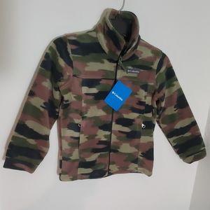 🆕 Columbia Camo Print Fleece Jacket